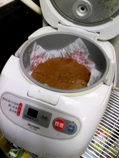 炊飯器で作ってんの♪.jpg