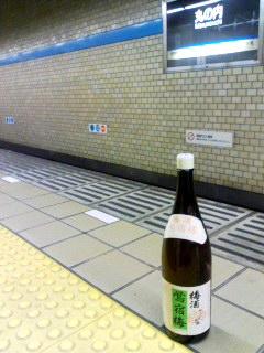 鴬宿梅in地下鉄.jpg